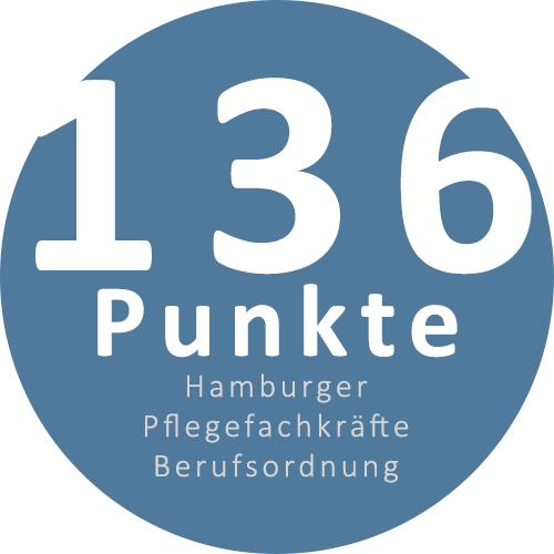 Punkte der Hamburger Pflegekräfte Berufsordnung